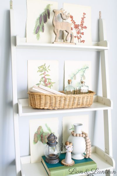 Budget Decor: Botanical Book Pages