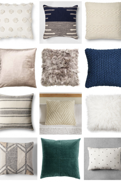 Cozy Winter Throw Pillows