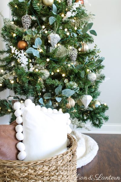 Jingle Through Decor | Simple Rustic Christmas Tree
