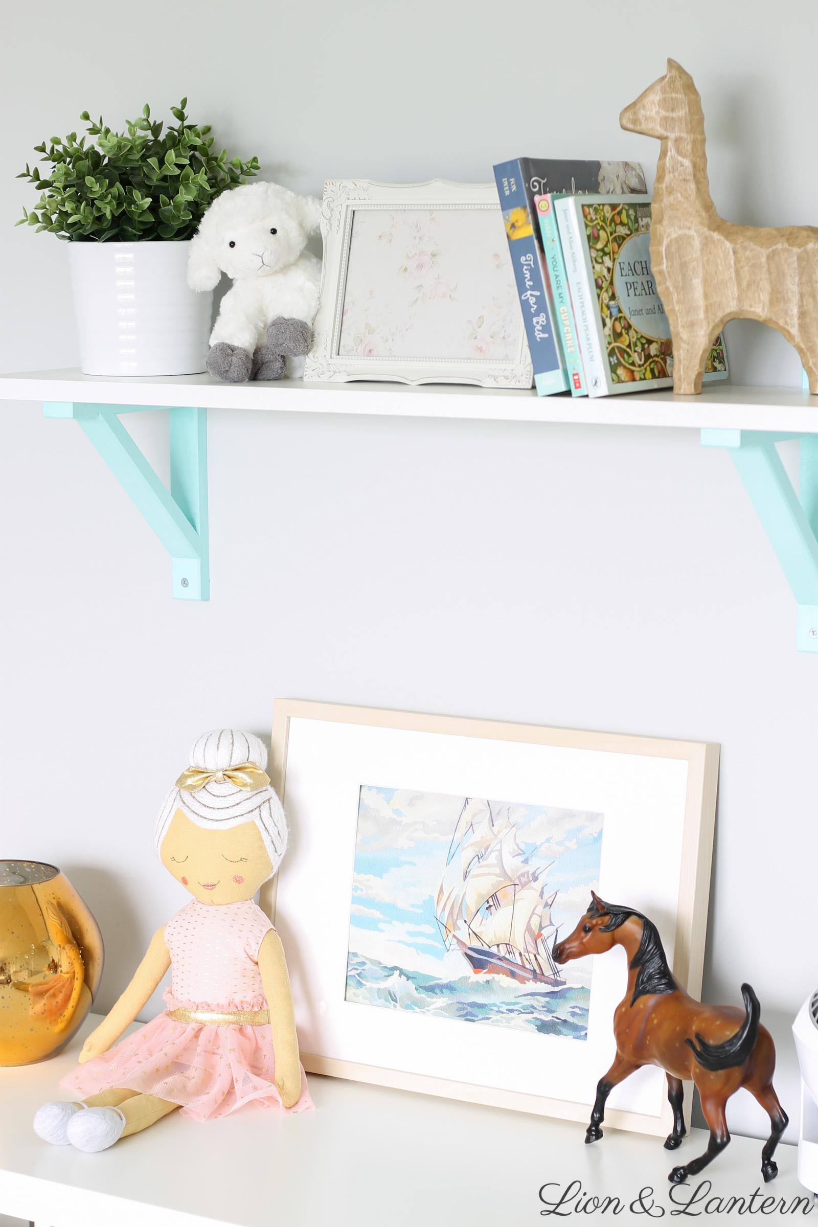 Narnia Inspired Sweet Amp Bright Nursery Tour Lion Amp Lantern