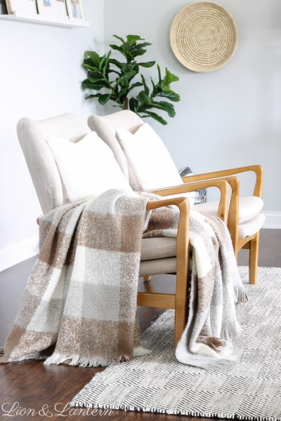 Coastal Modern Accent Chairs at LionAndLantern.com | modern accent chair, neutral accent chair, coastal farmhouse, bright and airy home